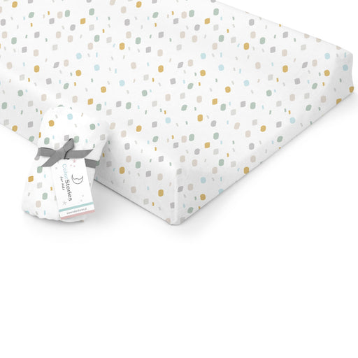 Changing Pad Cover/Crib Fitted Sheet-Fitted Sheet-ColorStories-Playground-Eko Kids