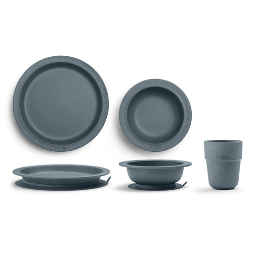Bamboo Children's Dinner Set-Plate-Elodie Details-Chocolate-Eko Kids
