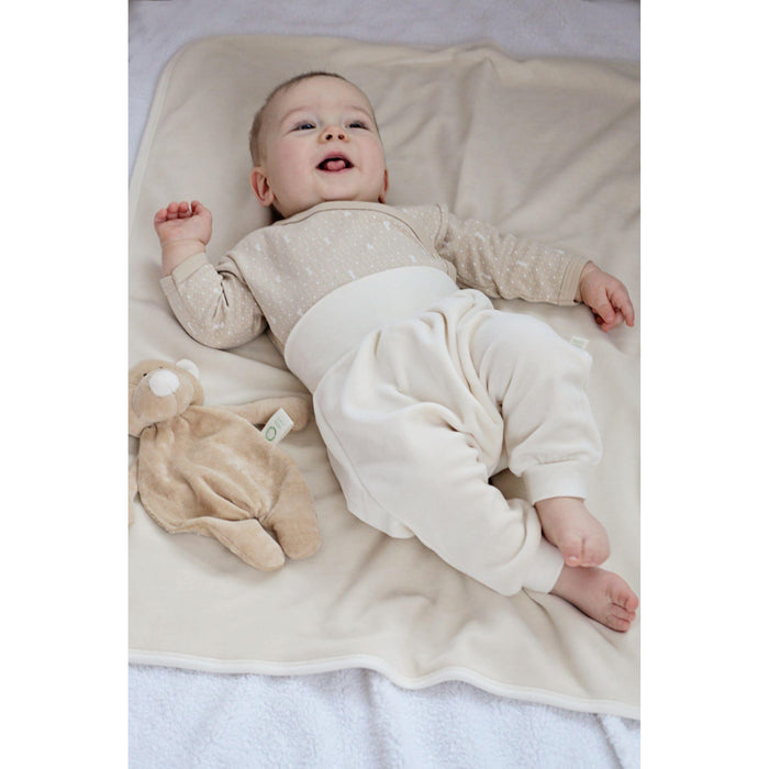 Organic Comforter With Dummy Holder-Comforter-Wooly Organic-Bunny-Eko Kids