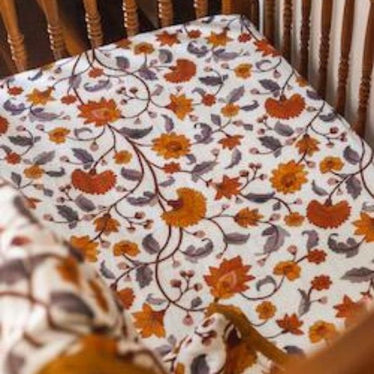 Cot Muslin Fitted Sheets-Cot Fitted Sheet-Pop Ya Tot-Wattle and Gum-Eko Kids