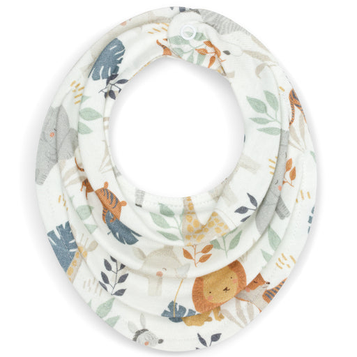 Cotton Dribble Bib-Bib-ColorStories-Safari-Eko Kids