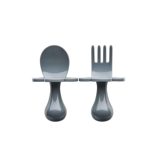 Ergonomic Cutlery Set-Cutlery-Grabease-Grey Dream-Eko Kids