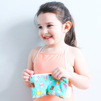 Itzy Ritzy Snack Happens - Mini Reusable Snack and Everything Bag ice cream social