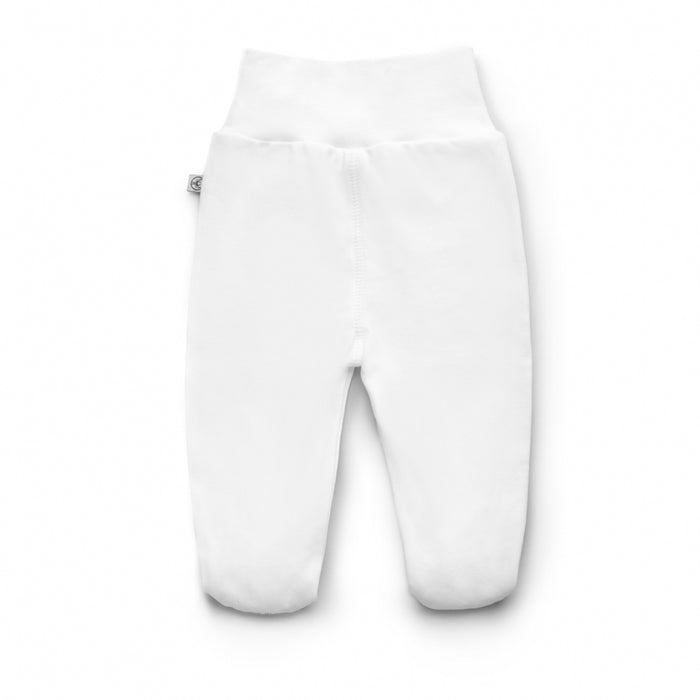 PIMA Cotton Joggers with Feet-joggers-Dear Eco-Newborn (56 cm)-Dear Eco Logo-Eko Kids