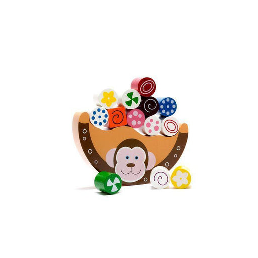 Wooden Monkey Balancing Arc Toy-Wooden Toy-Best Years Ltd-Eko Kids
