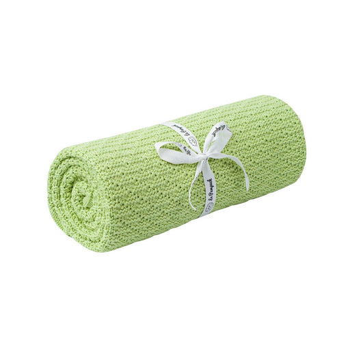 Bamboo & Cotton Blanket 100 x 80 cm-Blanket-Le Pampuch-Mint Green-Eko Kids