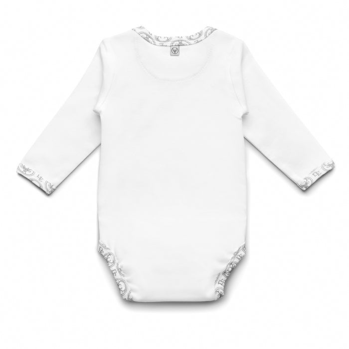 Long-sleeved PIMA Cotton Bodysuit-Bodysuit-Dear Eco-Newborn (56 cm)-Dear Eco Logo-Eko Kids