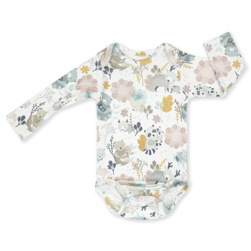 Long-sleeved Cotton Bodysuit-Bodysuit-ColorStories-1-3 months (62 cm)-Mum and Me-Eko Kids
