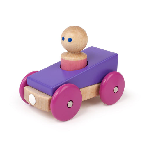 Magnetic Racer Wooden Toy - Tegu Toys - Eko Kids