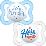 MAM Air Soother 0+ months (2 pack)-Pacifier-MAM-Wonder / Hero-Eko Kids
