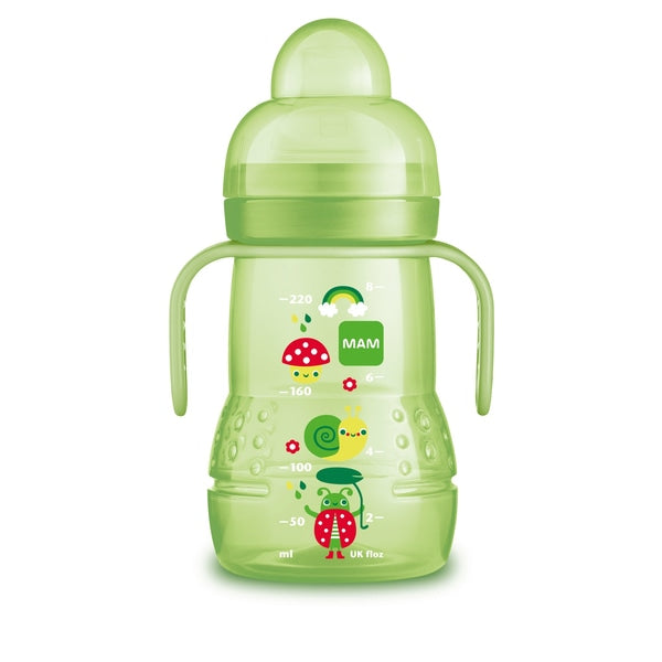 MAM 2 in 1 Trainer Cup 220 ml-Cup-MAM-Green-Eko Kids