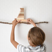 Mielasiela Wooden Boat Stacking Toy