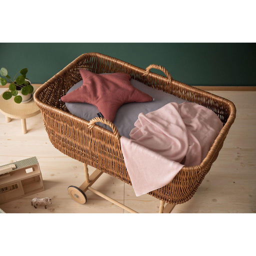 Organic Moses Basket/Pram Fitted Sheet 2-pack - Poofi - Eko Kids