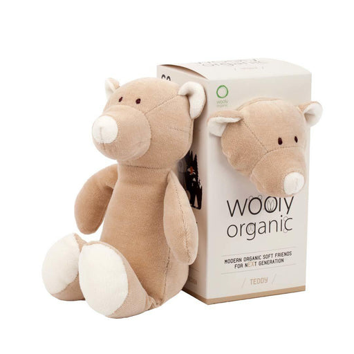 Organic Soft Toy - Teddy Bear - Wooly Organic - Eko Kids