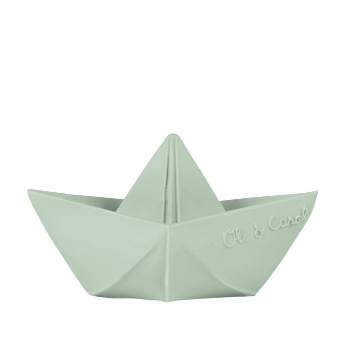 Origami Boat Teether and Bath Toy - Oli&Carol - Eko Kids