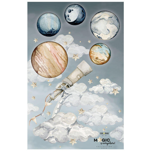 Magic is Everywhere - Galileo Sky Wallsticker Set-wallsticker-Dekornik-Small-Eko Kids
