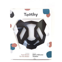 Panda Silicone Teether - Toothy - Eko Kids