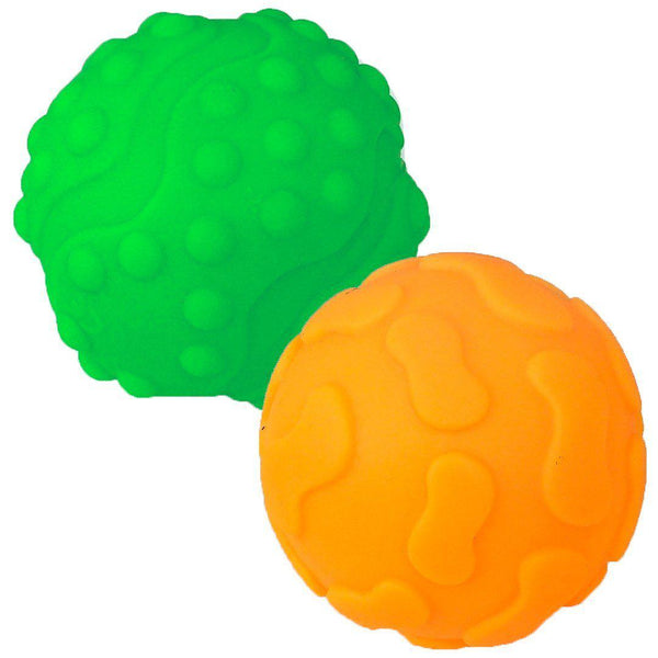 Sensorky - Textured Sensory Balls - Set of 2 - Mom's Care - Eko Kids