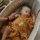 Soft Bamboo Baby Blanket-blanket-ColorStories-Beige-Eko Kids
