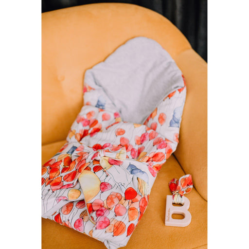 Cotton Swaddle Blanket-Swaddle-Beztroska-Herbarium-Eko Kids