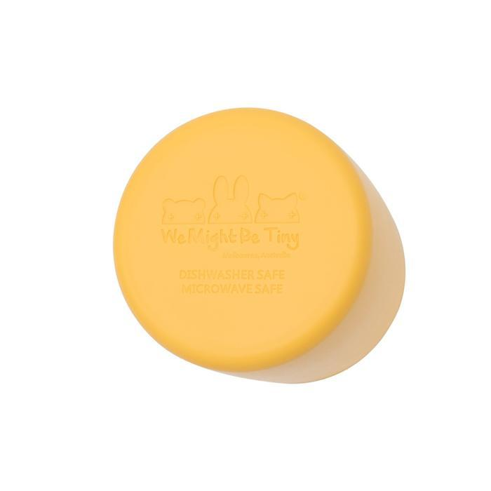 Silicone Grip Cup-Cup-We Might Be Tiny-Yellow-Eko Kids