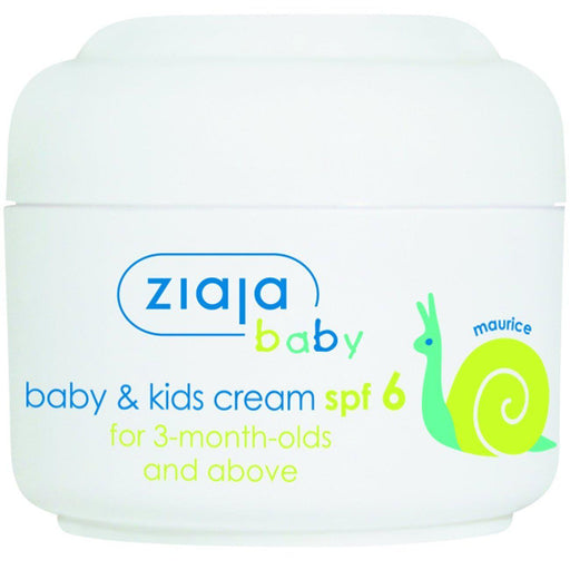 Ziaja Baby and Kids Cream SPF 6 for 3 Months and Older 50ml - Ziaja - Eko Kids
