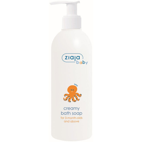 Ziaja Baby Creamy Bath Soap for 3 Months and Above 300ml - Ziaja - Eko Kids