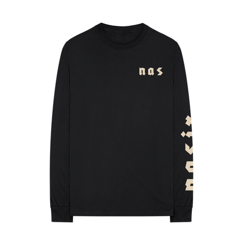NASIR L/S T-SHIRT + DIGITAL ALBUM