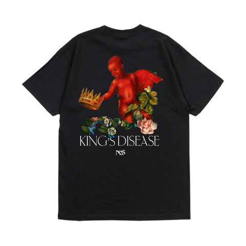 NASIR JONES BLACK T-SHIRT + DIGITAL ALBUM
