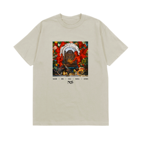 KING'S DISEASE CREAM ALBUM COVER T-SHIRT + DIGITAL ALBUM
