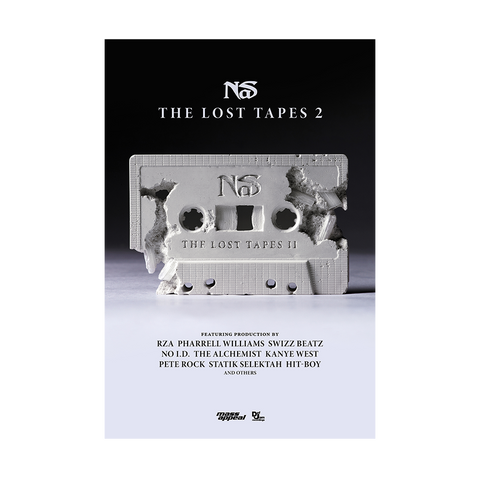 THE LOST TAPES 2 POSTER I + DIGITAL ALBUM