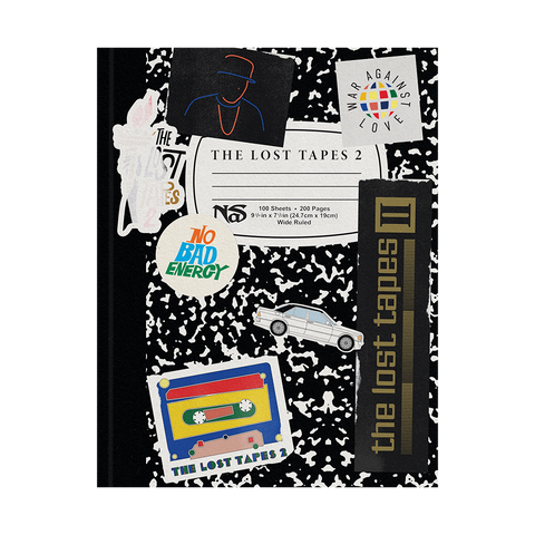 THE LOST TAPES 2 NOTEBOOK + DIGITAL ALBUM
