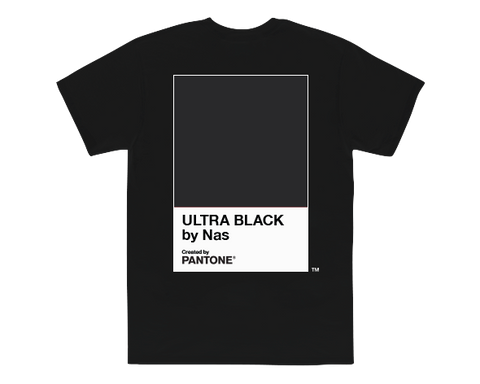 PANTONE X NAS BLACK UB T-SHIRT+ DIGITAL ALBUM
