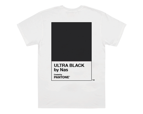 PANTONE X NAS WHITE UB T-SHIRT + DIGITAL ALBUM