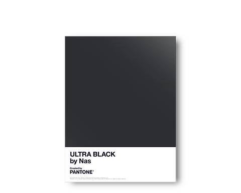 PANTONE X NAS ULTRA BLACK POSTER + DIGITAL ALBUM
