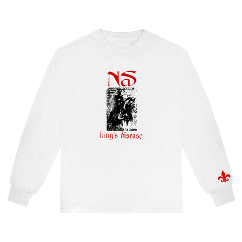 KING'S DISEASE SWORD L/S T-SHIRT + DIGITAL ALBUM
