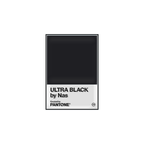 PANTONE X NAS ULTRA BLACK PIN + DIGITAL ALBUM