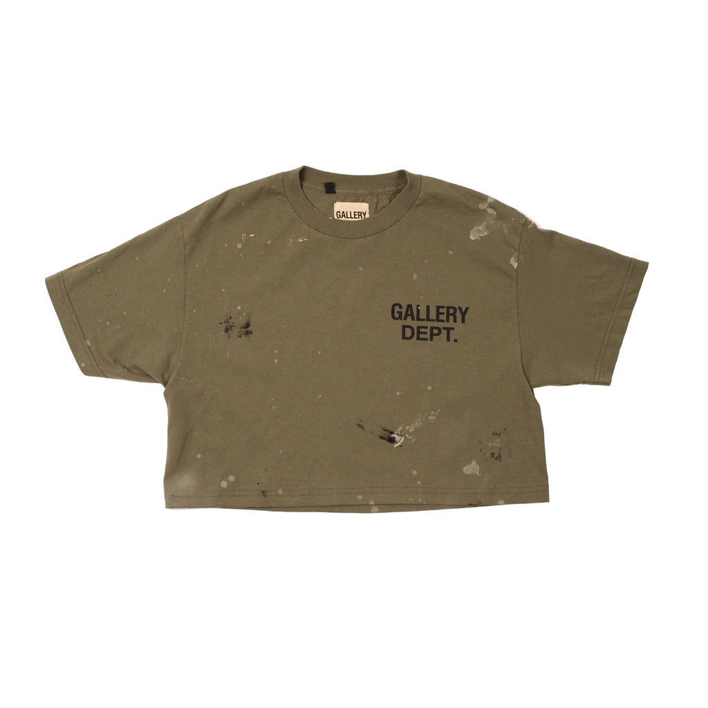 Gallery Dept Cropped Logo Tee