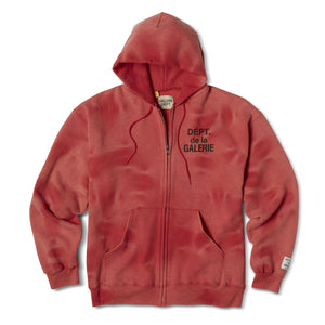 Sunfaded French Logo Zip Up