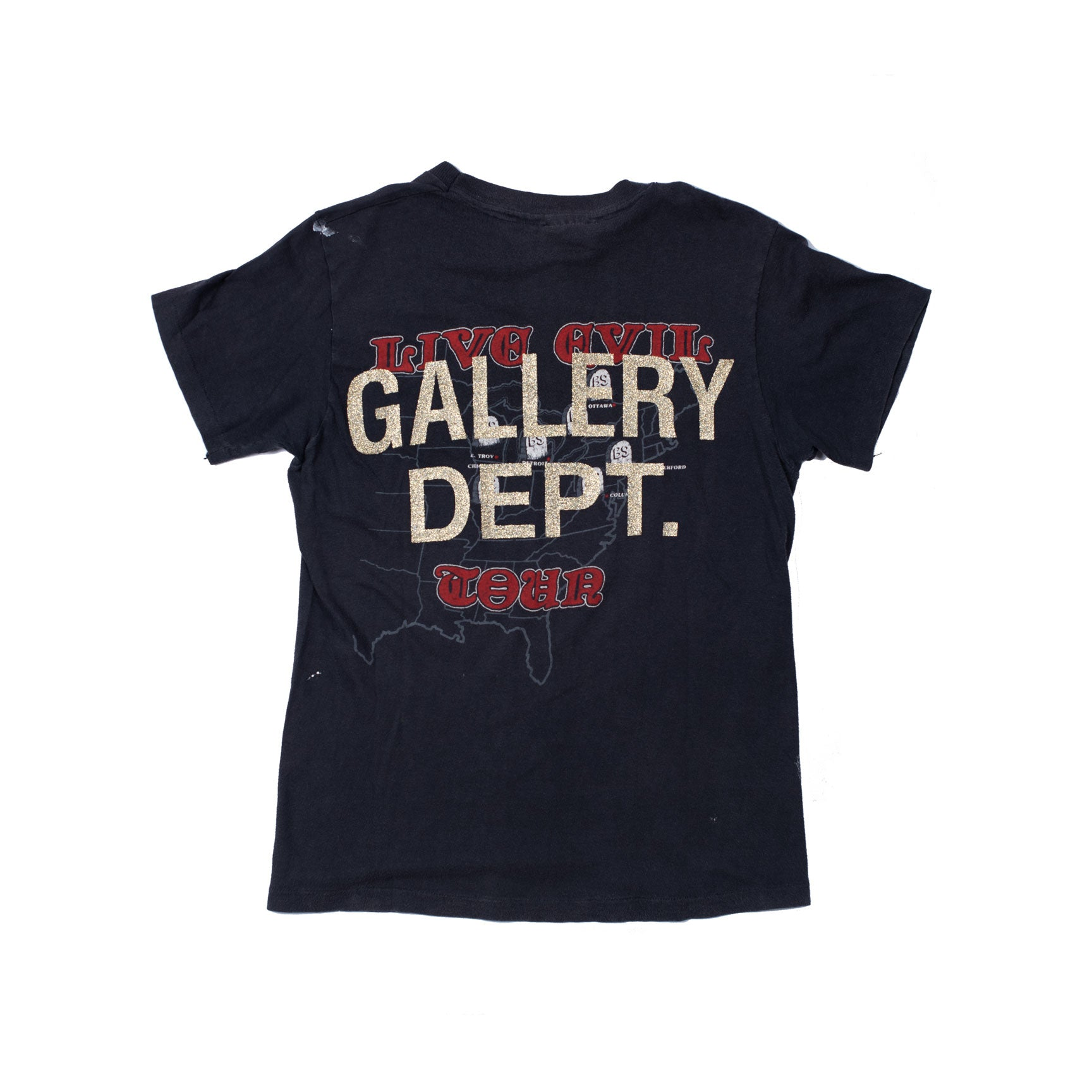 Gallery Dept Vintage Black Sabbath Logo Tee