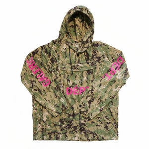 Digital Camo Anorak Jacket