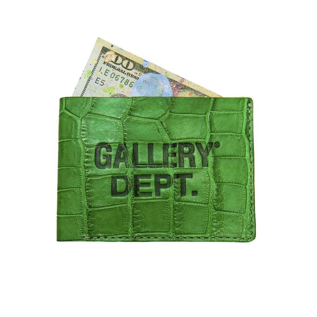 Gallery Dept Alligator Wallet