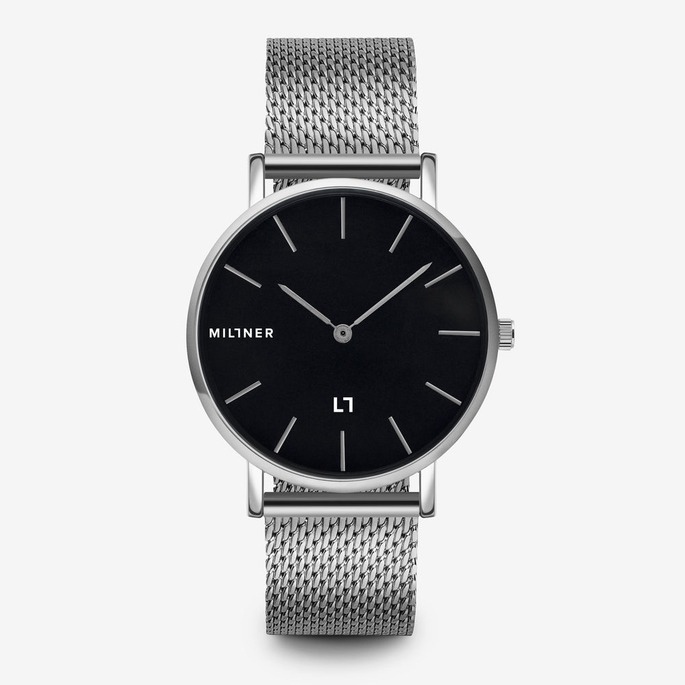 Mayfair · Silver Black