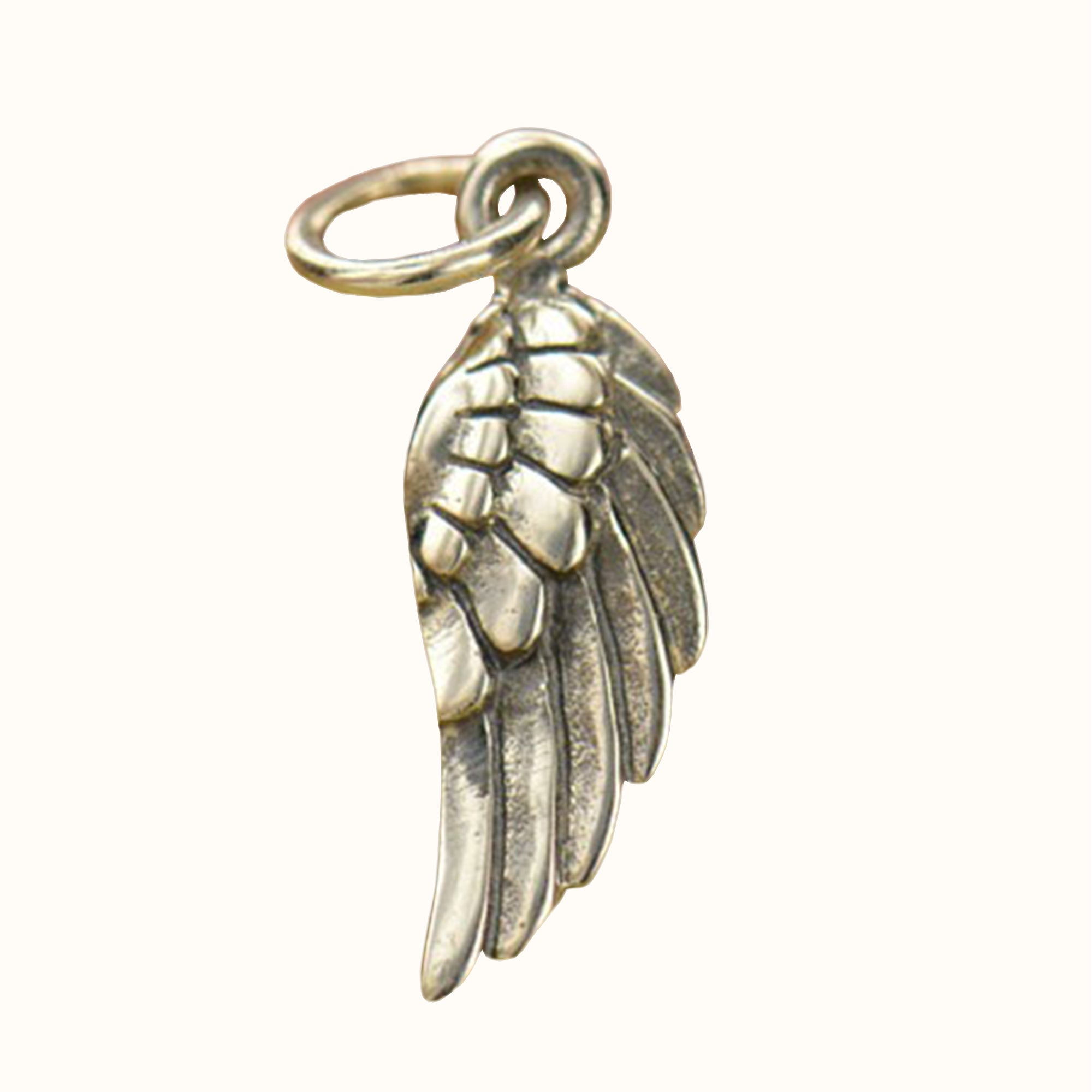 925 Sterling Silver Angel Wing Charm