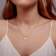 Load image into Gallery viewer, F Initial Necklace