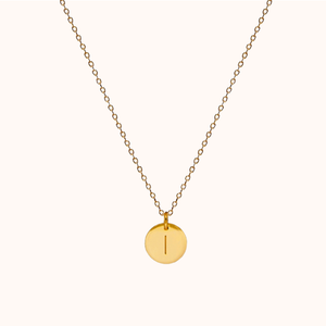 I Initial Necklace