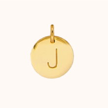 Load image into Gallery viewer, J Initial Necklace