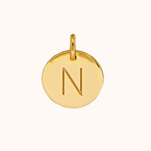 Load image into Gallery viewer, N Initial Necklace
