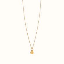 Load image into Gallery viewer, Small Gold Heart Necklace