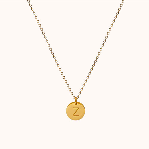 Z Initial Necklace
